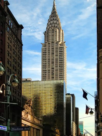Chrysler Building and Madison Avenue, Manhattan, New York City-Sabine Jacobs-Photographic Print