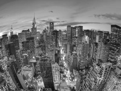 Chrysler Building and Midtown Manhattan Skyline, New York City, USA-Jon Arnold-Photographic Print
