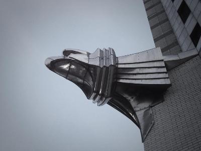 Chrysler Building Detail-NaxArt-Art Print