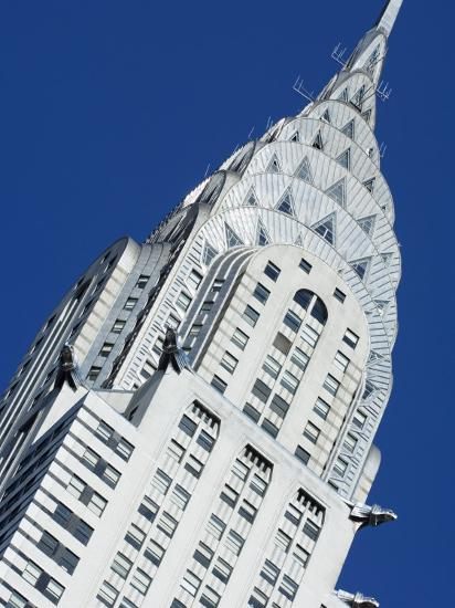 Chrysler Building, Manhattan, New York City, New York, USA-Amanda Hall-Photographic Print