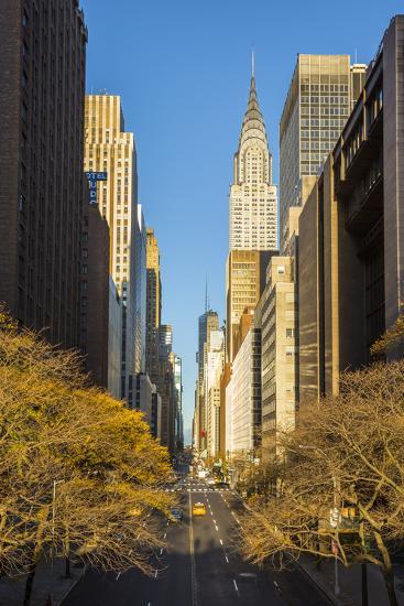 Chrysler Building, Manhattan, New York City, New York, USA-Jon Arnold-Photographic Print