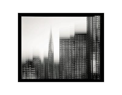 Chrysler Building Motion Landscape #1-Len Prince-Art Print