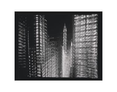 Chrysler Building Motion Landscape #4-Len Prince-Art Print