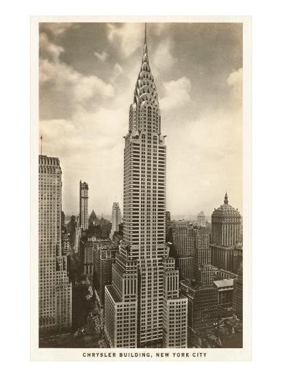 Chrysler Building, New York City--Art Print