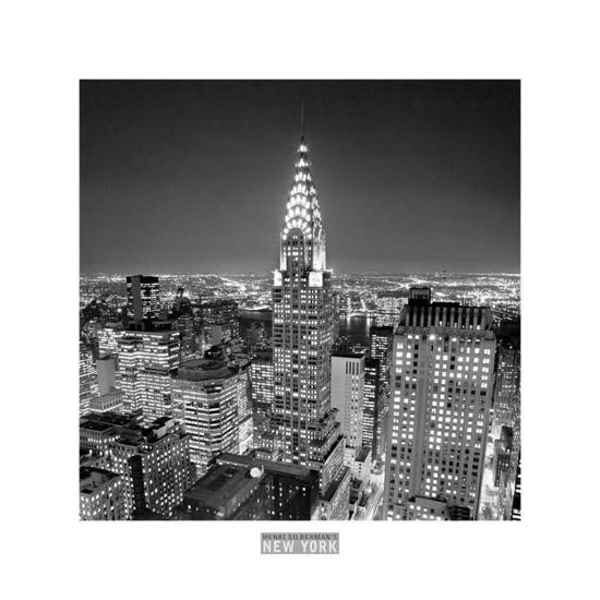 Chrysler Building-Henri Silberman-Art Print