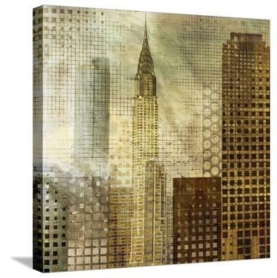 Chrysler Building-Katrina Craven-Stretched Canvas Print
