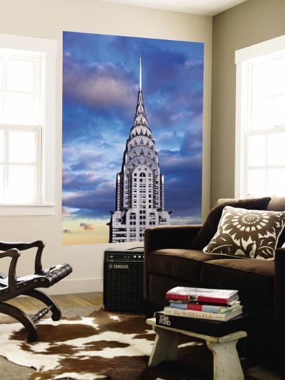 Chrysler Building-Jean-pierre Lescourret-Wall Mural