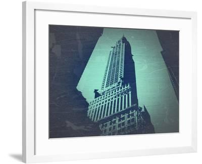 Chrysler Building-NaxArt-Framed Art Print