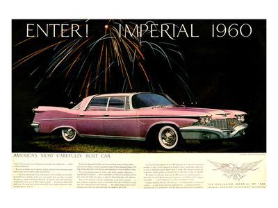 Chrysler Enter! Imperial 1960--Art Print