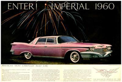Chrysler Enter! Imperial 1960
