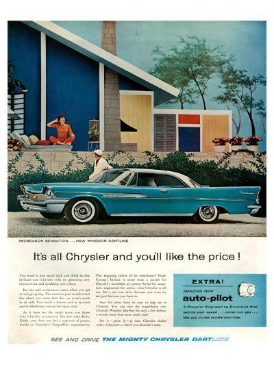 Chrysler New Windsor Dartline--Art Print