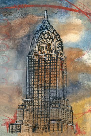 Chrysler Sketch-Edith Lentz-Art Print