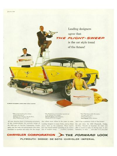 Chrysler - the Flight-Sweep--Art Print