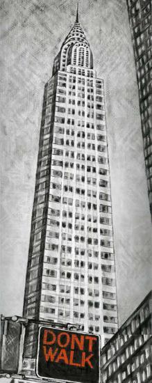 Chrysler Tower-L^ Cartier-Art Print