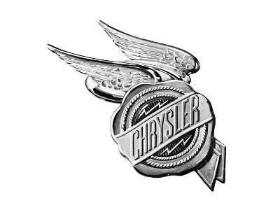 Chrysler Wings Logo 1928--Art Print