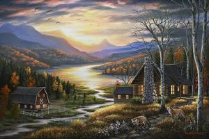 Evening Guests by Chuck Black