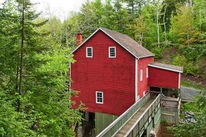 The Old Gristmill by Chuck Burdick