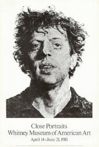Large Phil Fingerprint, 1979 by Chuck Close