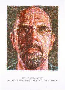 Self Portrait by Chuck Close