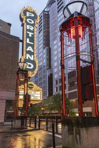 Arlene Schnitzer Concert Hall in Downtown Portland, Oregon by Chuck Haney