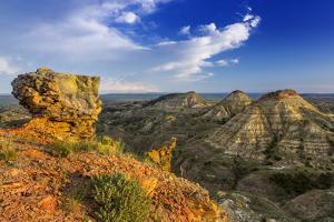 Badlands, Terry Badlands Wilderness Study Area, Montana, Usa by Chuck Haney