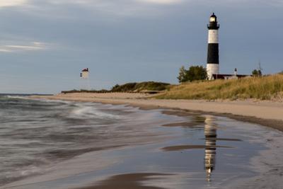 Big Sable Point Lighthouse on Lake Michigan, Ludington SP, Michigan by Chuck Haney