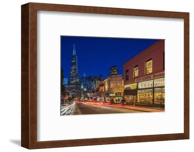 City Lights Bookstore at Dusk , San Francisco, California