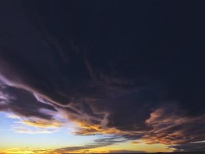 Clouds At Sunset, Great Falls, Montana by Chuck Haney
