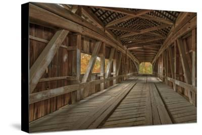 Cox Ford Covered Bridge over Sugar Creek,, Parke County, Indiana
