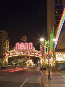 Downtown, Reno, Nevada by Chuck Haney