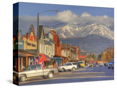 Downtown Whitefish, Montana, USA