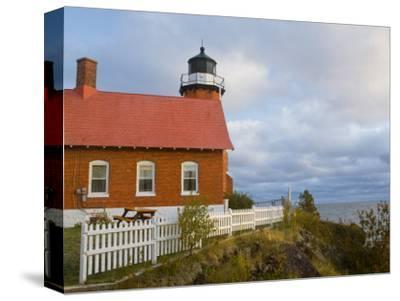Eagle Harbor lighthouse on Lake Superior, Michigan, USA