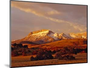 Ear Mountain Along the Rocky Mountain Front, Montana, USA by Chuck Haney