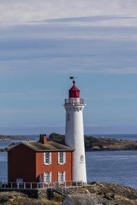 Fisgard Lighthouse in Victoria, British Columbia, Canada by Chuck Haney