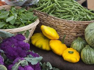 Fresh Produce at the Farmers Market in Whitefish, Montana, USA by Chuck Haney