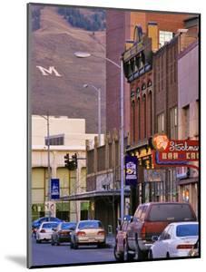 Front Street, Missoula, Montana by Chuck Haney