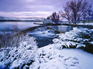 Giant Springs State Park in Winter, Great Falls, Montana by Chuck Haney