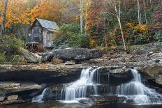Grist Mill on GladeCreek at Babcock State Park, West Virginia, USA-Chuck Haney-Photographic Print
