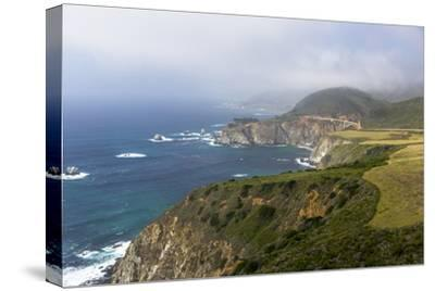 Highway 1 and Bixby Bridge Along the Pacific Coastline. California