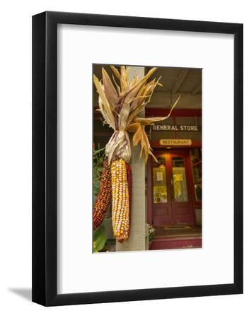 Indian Corn at Entrance to the Historic Story Inn, Story, Indiana