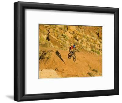 Jumping Mountain Bike, Rockville, Utah, USA