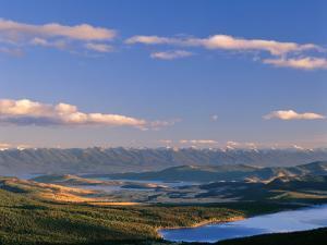 Lake Mary Ronan and Flathead Lake, Elmo, Montana, USA by Chuck Haney