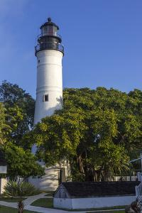 Lighthouse in Key West Florida, USA by Chuck Haney