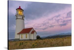 Oregon's Oldest Lighthouse at Cape Blanco State Park, Oregon Usa by Chuck Haney