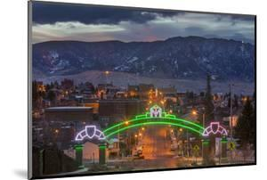 Park Street from Montana Tech Campus at Dawn in Butte, Montana by Chuck Haney