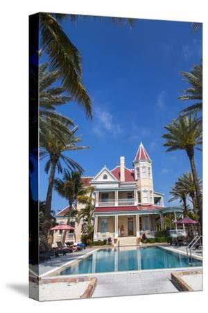 Pool at Southernmost House Inn in Key West Florida, USA