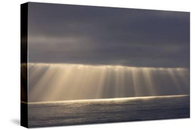Rays from the Clouds over the Pacific Ocean, Santa Cruz, California