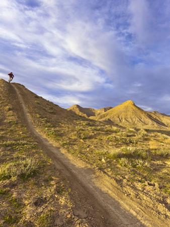 Sam Long Mountain Bikes on the Zippy Doo Dah Trail in Fruita, Colorado, Usa