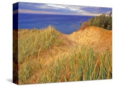 Sand Dunes Along Lake Superior at Pictured Rocks National Seashore, Grand Marais, Michigan, USA