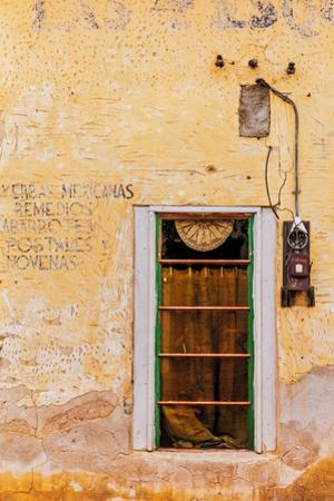 Spanish Style Doorways in the Barrio Viejo District of Tucson, Arizona, Usa by Chuck Haney